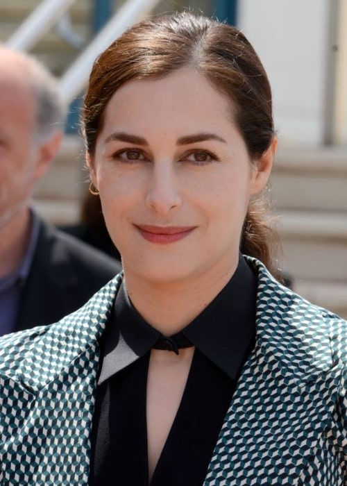 Amira Casar as seen in a picture that was taken at the Festival de Cannes in 2013