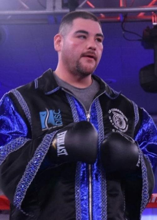 Andy Ruiz Jr. as seen in an Instagram Post in June 2020
