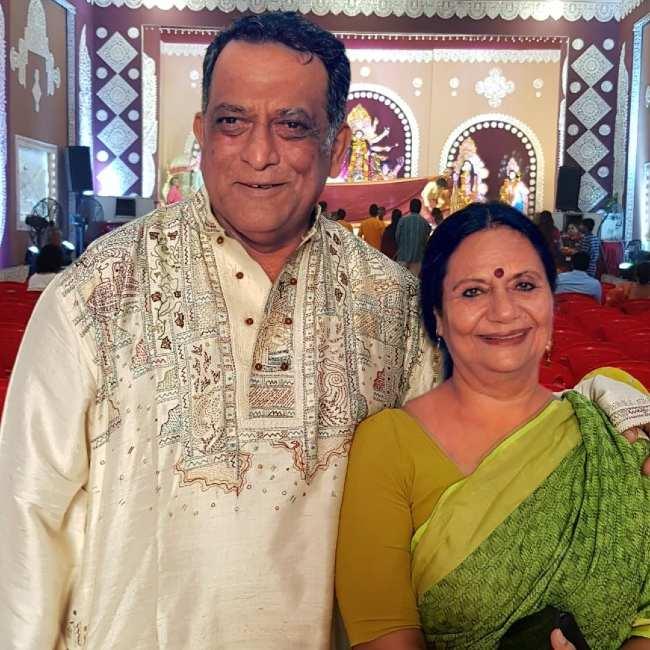 Anurag and Tani Basu as seen in 2019