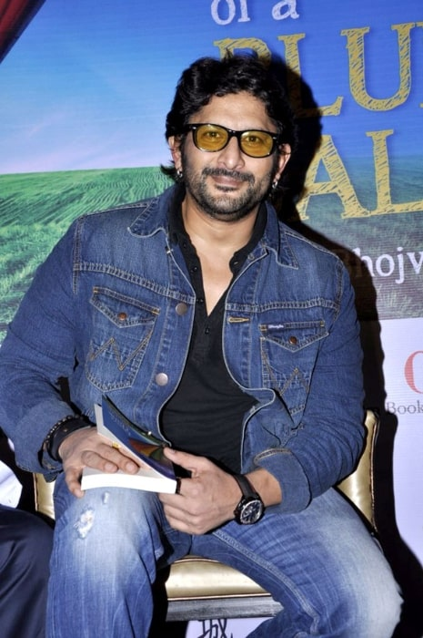Arshad Warsi as seen at the launch of Malti Bhojwani's book named 'Don't Think Of A Blue Ball'