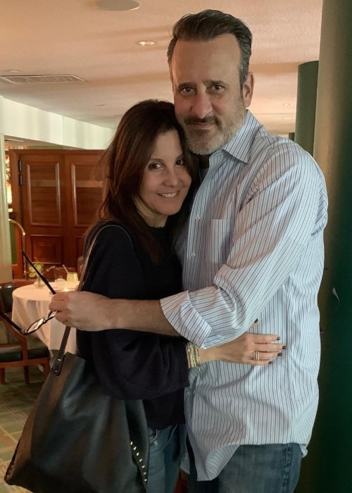 Benjamin King posing for a picture alongside his wife Laura King on Valentine's Day in February 2020