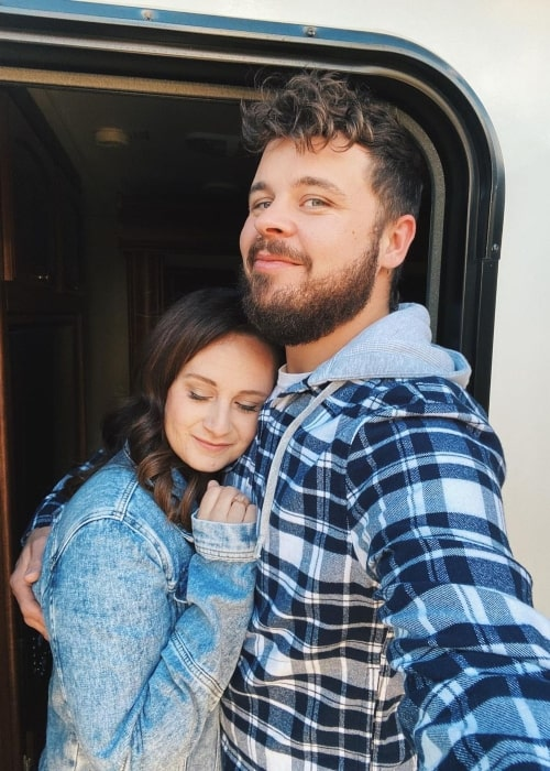 Bryan Lanning as seen in a selfie that was taken with his wife March 2021