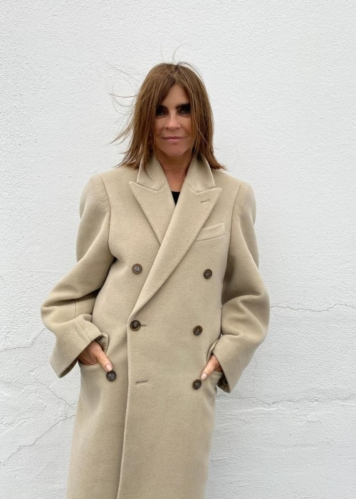 Carine Roitfeld as seen in an Instagram Post in February 2021