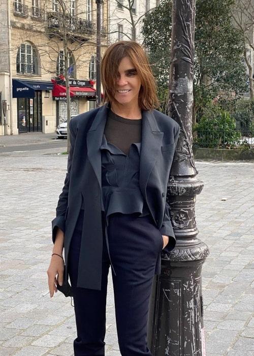 Carine Roitfeld as seen in an Instagram Post in January 2021