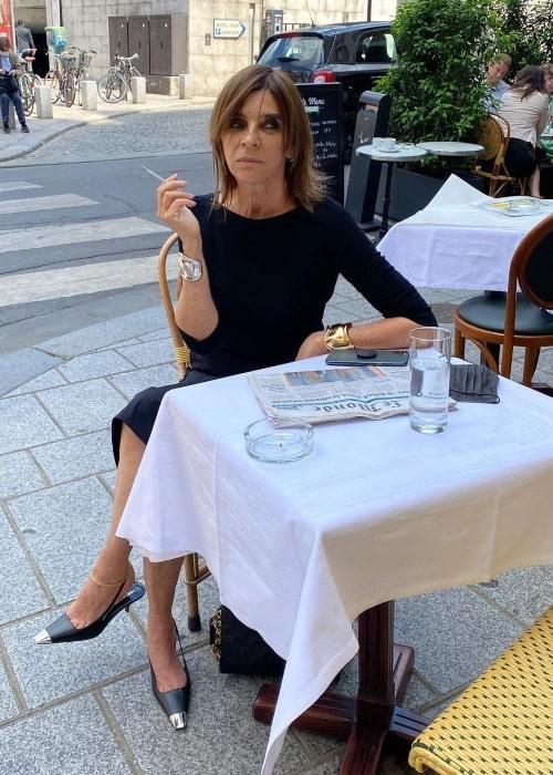 Carine Roitfeld as seen in an Instagram Post in June 2021