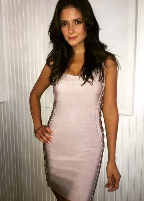 Carla Ossa as seen in a picture that was taken in April 2017
