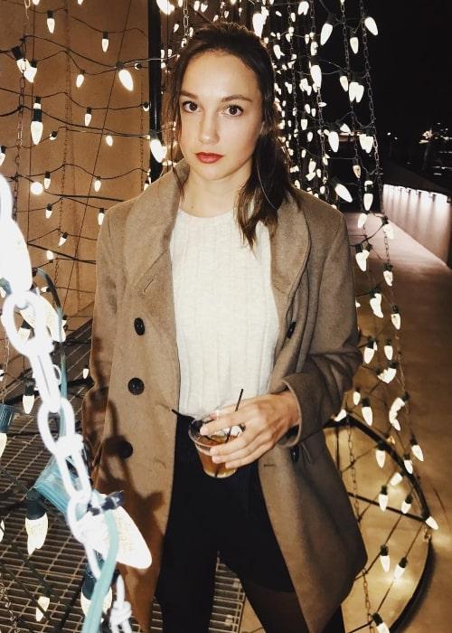 Charlotte Drury as seen in an Instagram Post in November 2018