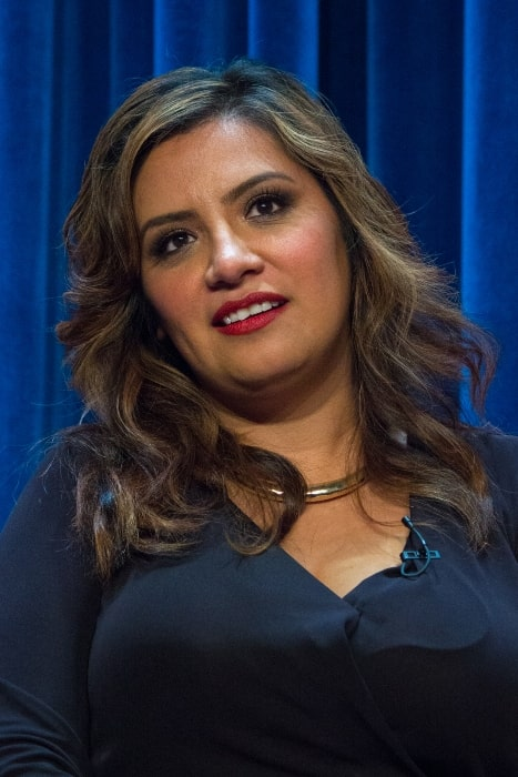 Cristela Alonzo as seen at the PaleyFest Fall TV Previews 2014 for the ABC show 'Cristela'
