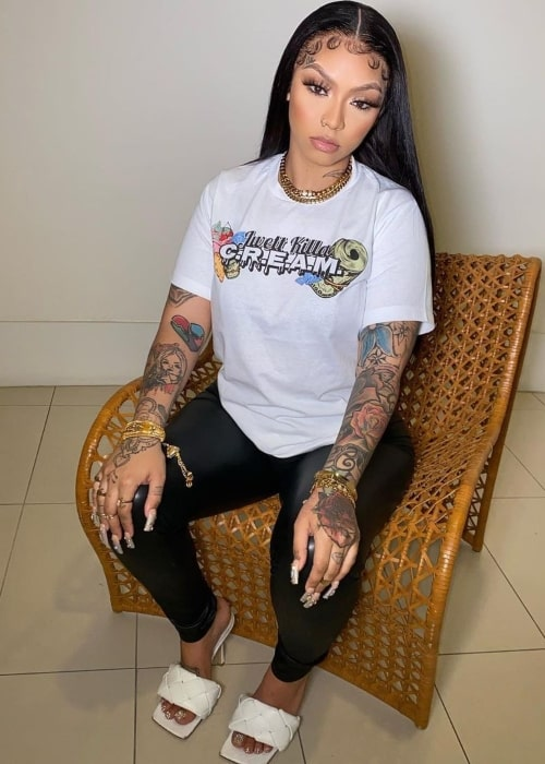 Cuban Doll as seen in a picture that was taken in May 2021