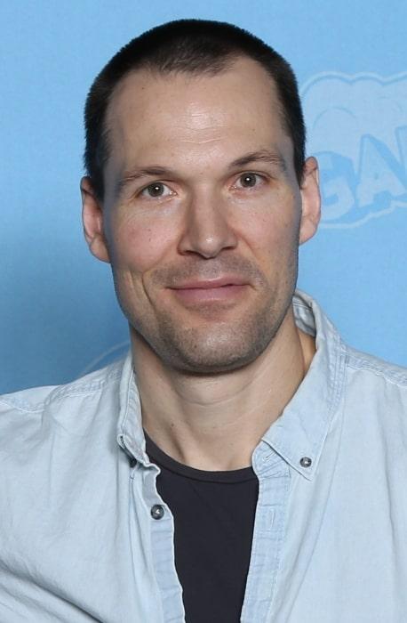 Daniel Cudmore pictured at GalaxyCon Louisville in 2019