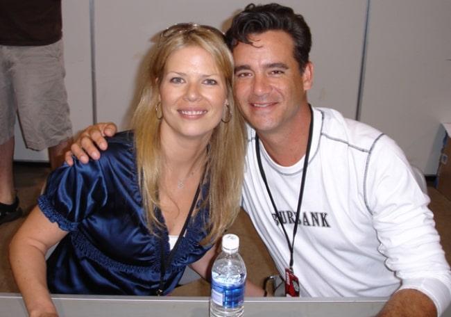 Daran Norris and Mary Elizabeth McGlynn at Anime Vegas 2007