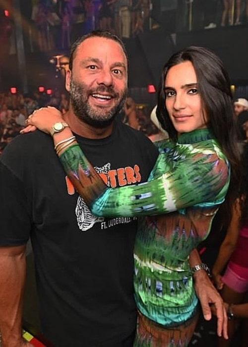 David Grutman and Isabela Rangel, as seen in May 2021