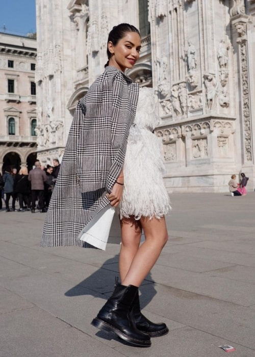 Diipa Büller-Khosla as seen in a picture that was taken in Milan, Italy in February 2021