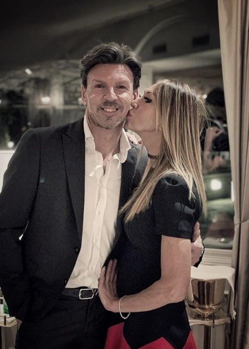 Eddy Mazzoleni and Alessandra B, as seen in March 2021
