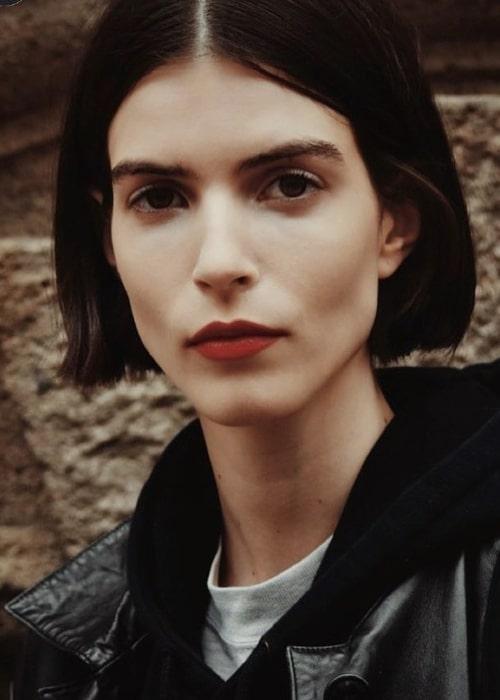 Elisa Mitrofan as seen in a picture that was taken in November 2020