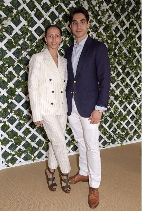 Francesca Hayward and Cesar Corrales, as seen in July 2021
