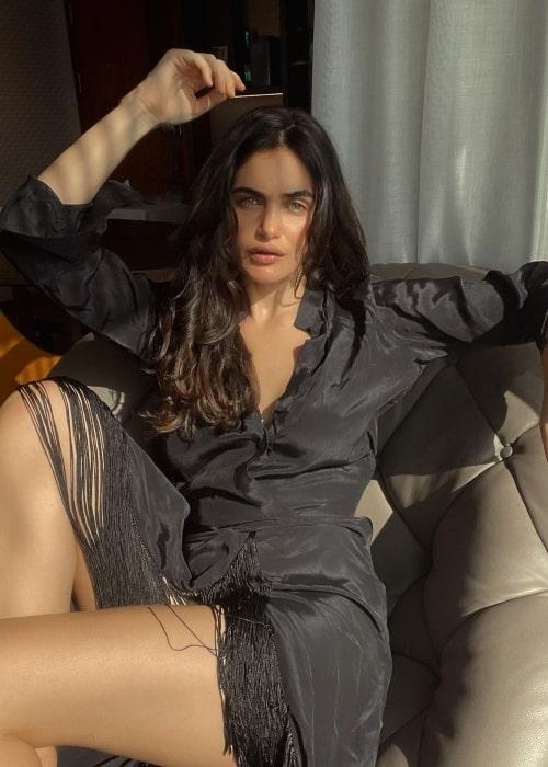 Gabriella Demetriades as seen in a picture that was taken in July 2021