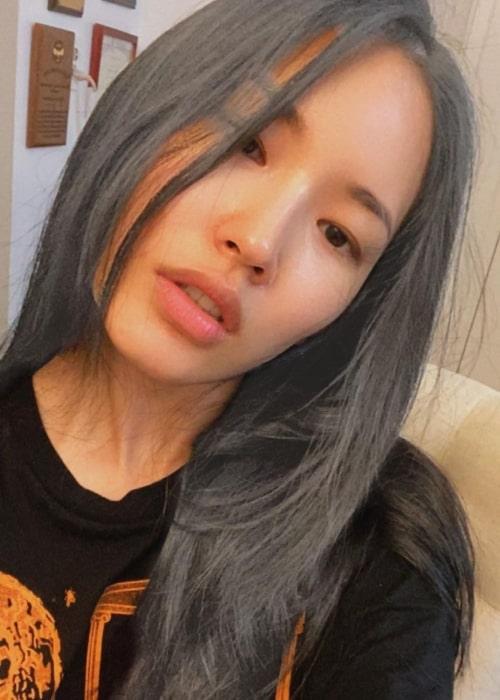 Hyunjoo Hwang as seen in a selfie that was taken in New York City, New York in July 2021