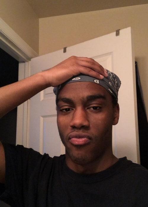 Itsacrello as seen in a selfie that was taken in November 2020