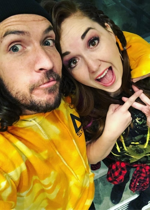 Jenny McBride as seen in a selfie that was taken with her husband Shonduras in November 2018