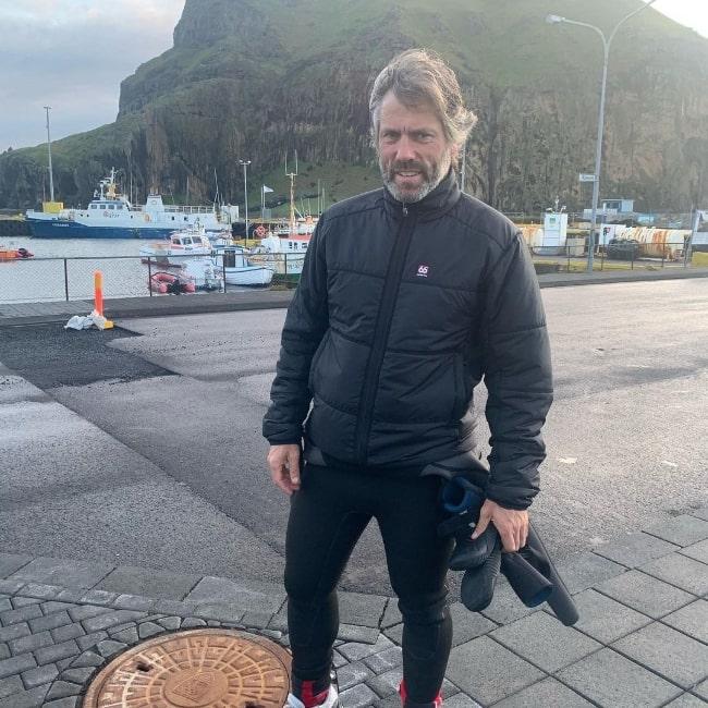 John Bishop as seen in an Instagram post in August 2020