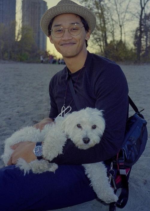 Josh Dela Cruz as seen in a picture that was taken in December 2021