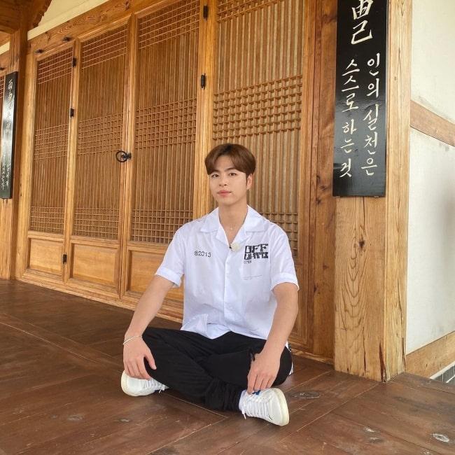 Ju-ne as seen in a picture that was taken in July 2021