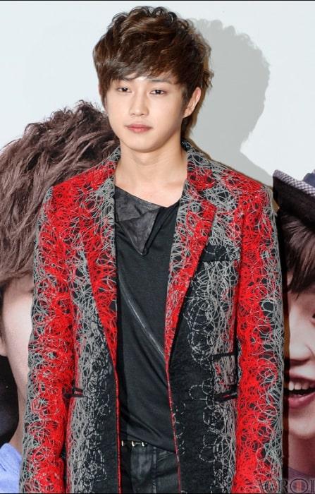 Kim Min-seok as seen during an event
