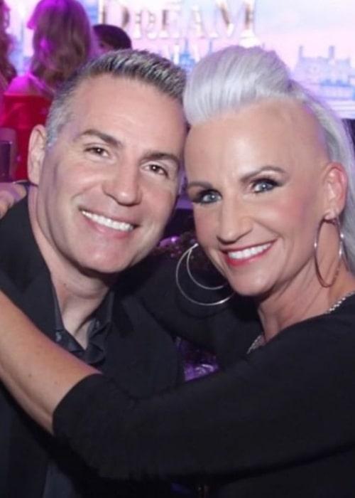 Kurt Warner and Brenda Carney Meoni, as seen in February 2020