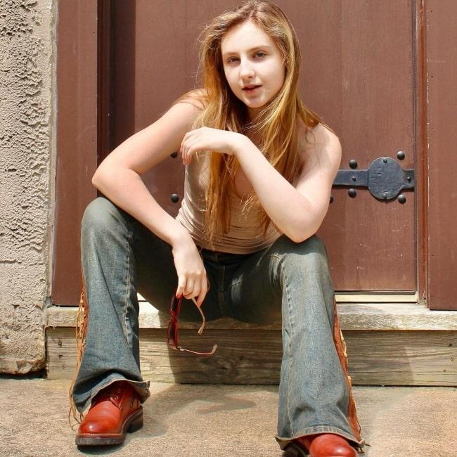 Kyla Carter as seen in a picture that was taken in June 2021
