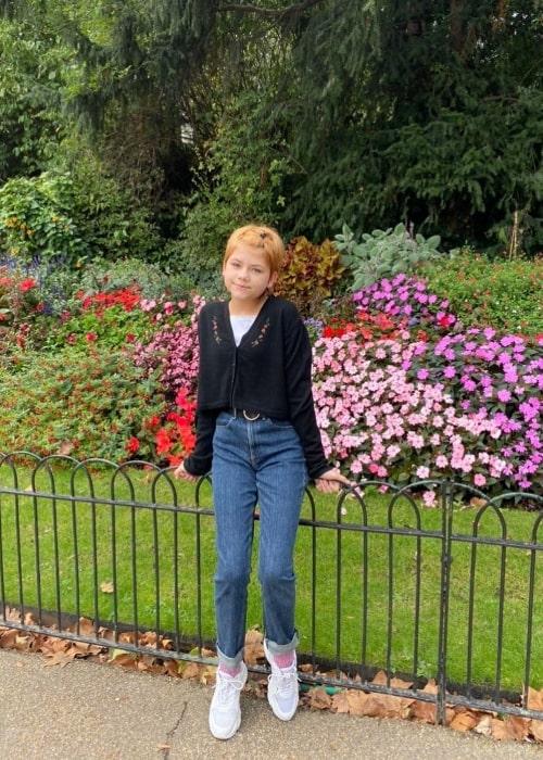 Lia McHugh in October 2019
