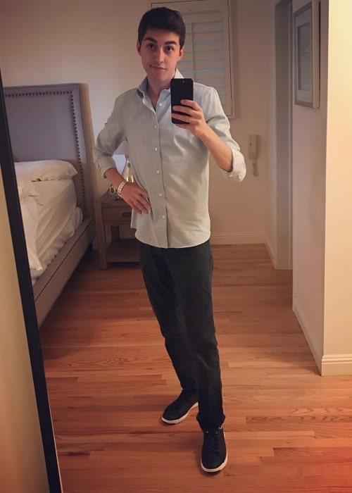 LostNUnbound as seen in a selfie that was taken in June 2017