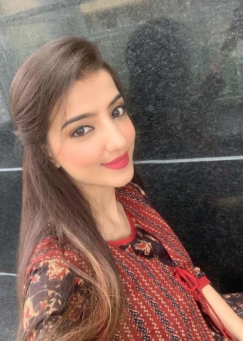 Loveleen Kaur Sasan taking a selfie in October 2020