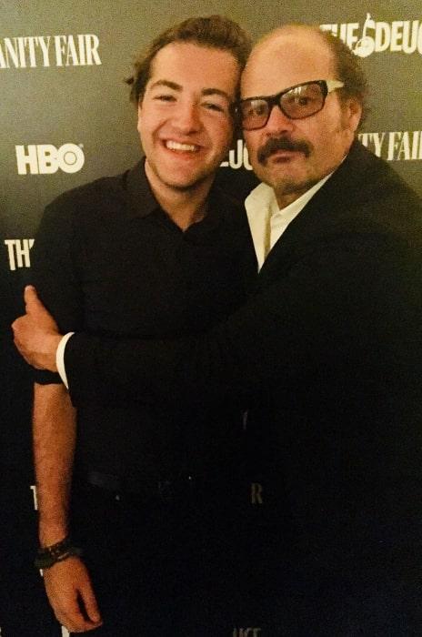 Michael Gandolfini (Left) and Chris Bauer