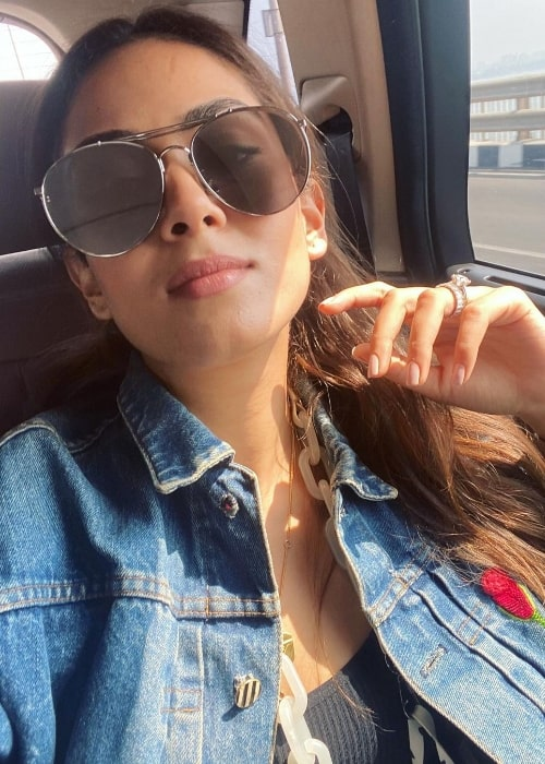 Mira Rajput as seen while taking a selfie in March 2021