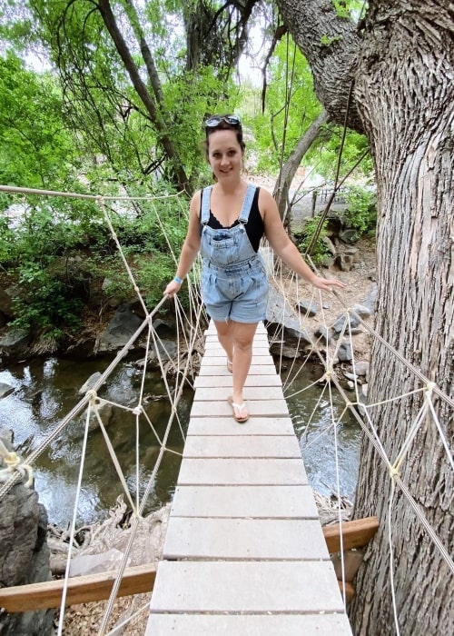 Missy Lanning as seen in a picture that was taken in Veyo Pool & Crawdad Canyon in May 2021
