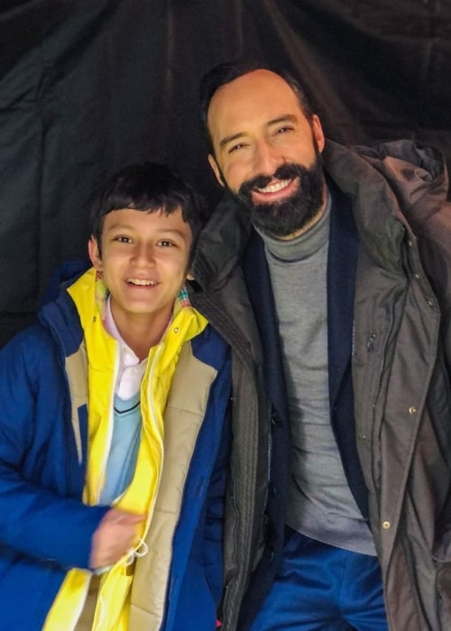 Mystic Inscho as seen in a picture that was taken with actor Tony Hale in July 2021