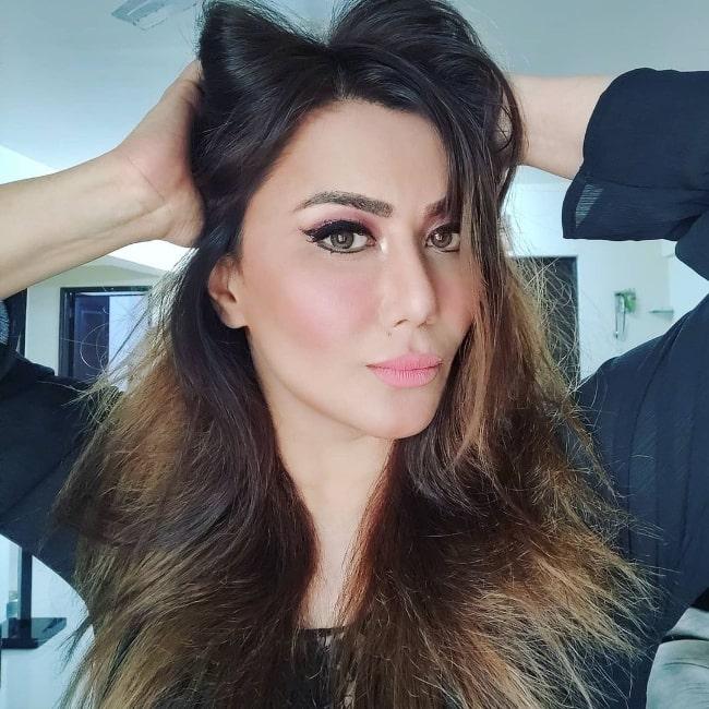 Nausheen Ali Sardar as seen in an Instagram post in March 2020