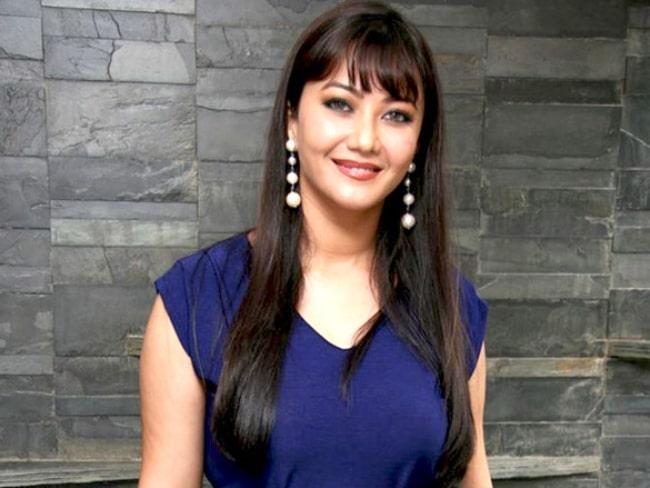 Nausheen Ali Sardar as seen while smiling for the camera