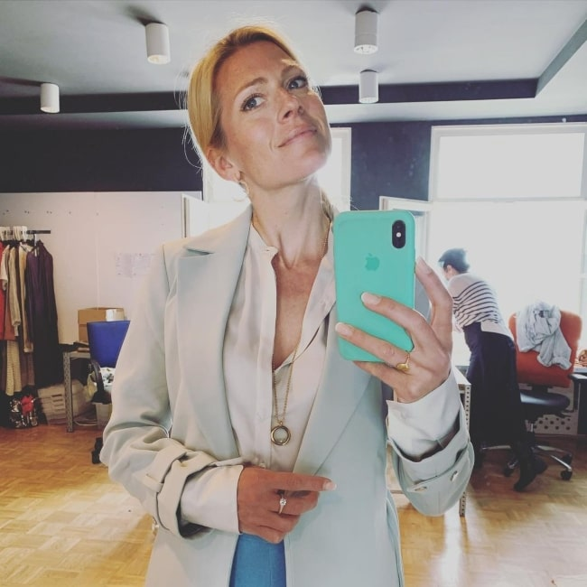 Nele Kiper sharing her selfie in June 2020