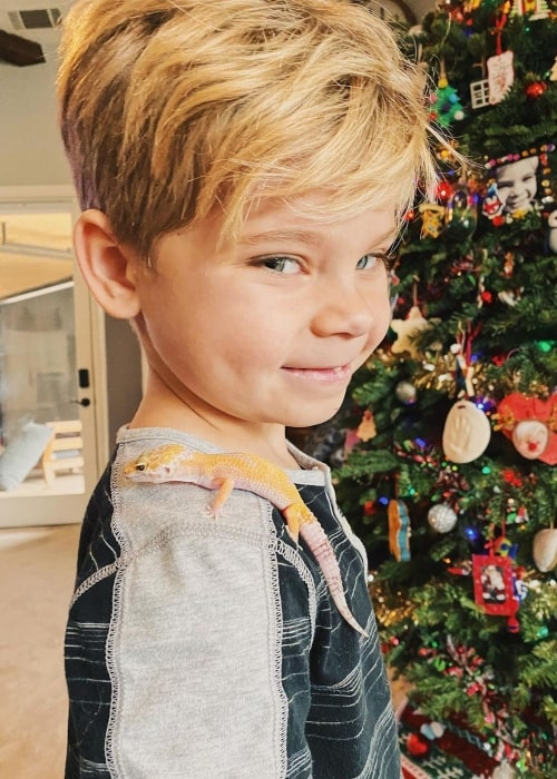 Oliver Lanning as seen in a picture that was taken in December 2019