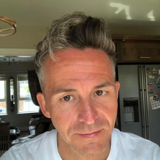 Paul Patrick Beales as seen in a selfie that was taken in April 2020