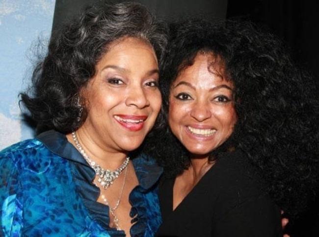 Phylicia Rashad (Left) and Diana Ross
