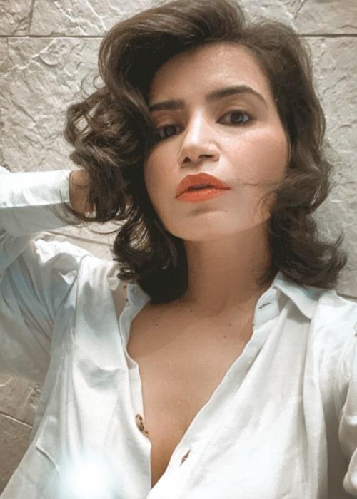 Priya Ahuja as seen in a selfie that was taken in June 2021