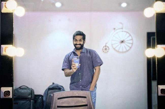 Sharib Hashmi in July 2021 in a light-light mood