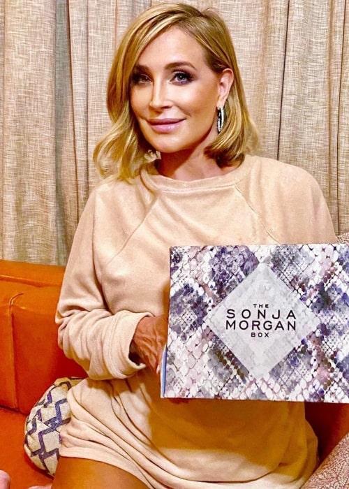 Sonja Morgan as seen in an Instagram Post in June 2021