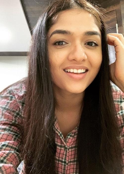 Sunaina as seen ina selfie that was taken in Hyderabad in December 2020