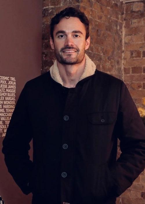 Thom Evans as seen in an Instagram Post in November 2019