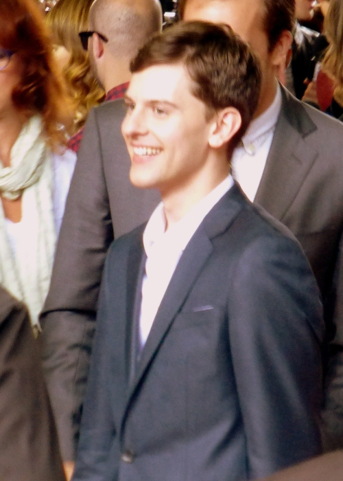 Travis Tope at the premiere of Men, Women, and Children, 2014 Toronto Film Festival