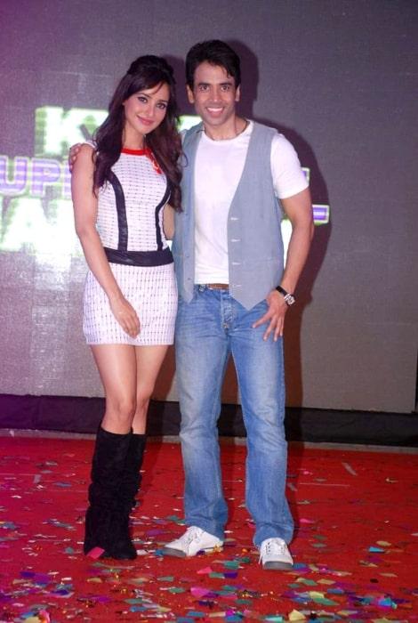 Tusshar Kapoor and Neha Sharma at the audio release of 'Kyaa Super Kool Hain Hum' in 2012